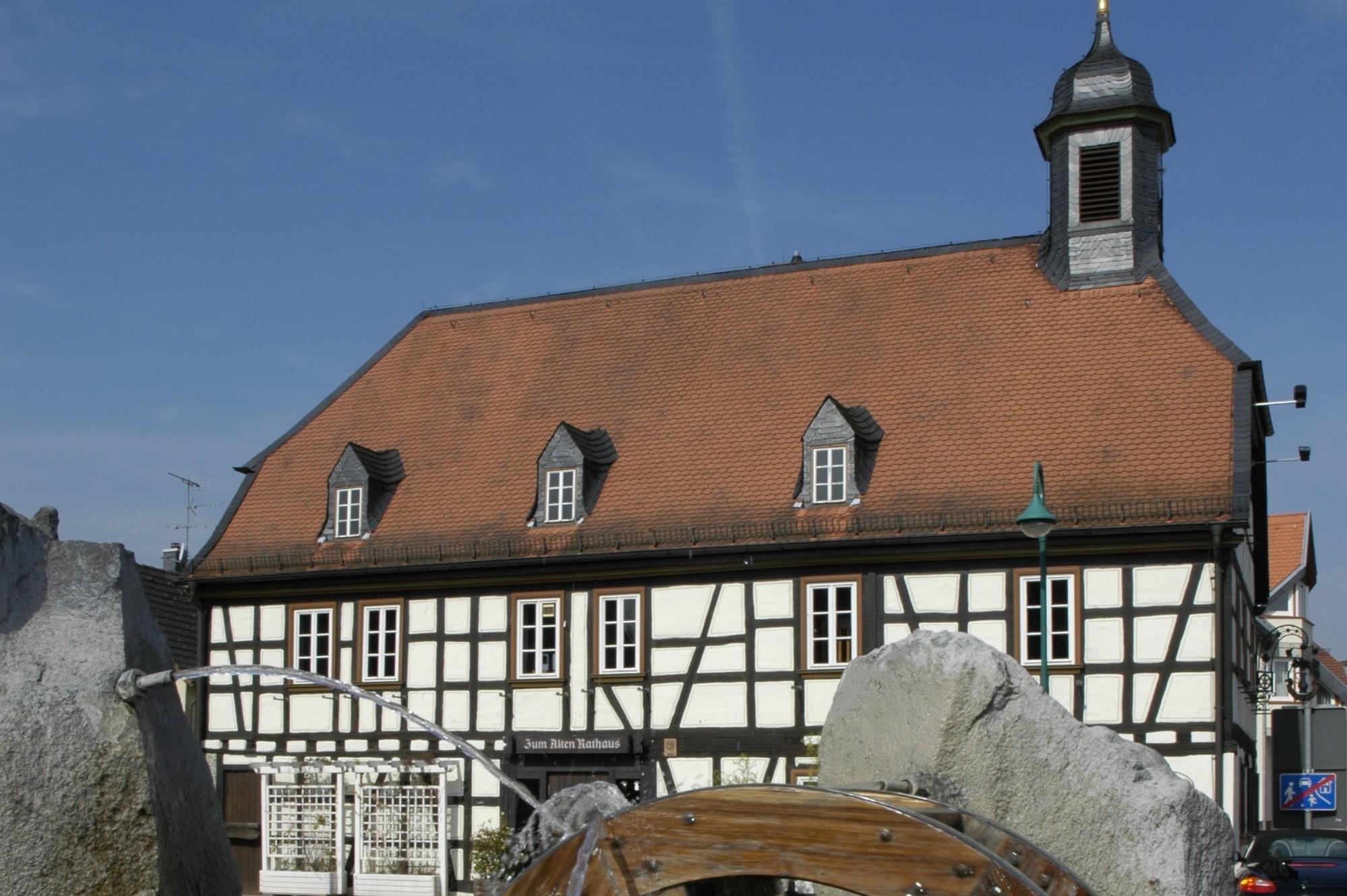 Ansicht des alten Rathaus Münster