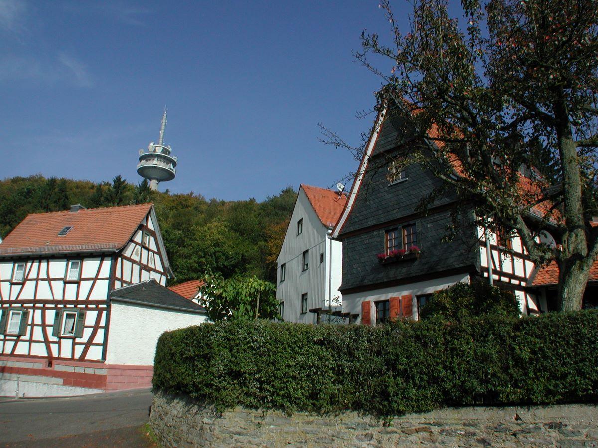 Ansicht des Ortskerns Eppenhain