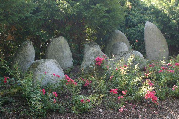 Gedenkanlage mit Steinen, die Gagernanlage