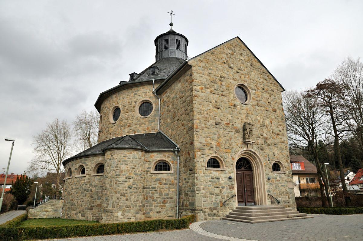 Martinskirche in Hornau