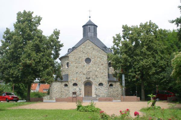 Ansicht der Martinskirche in Hornau