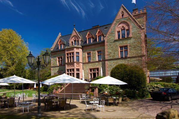 Außenansicht des Schlosshotels Rettershof